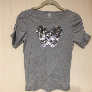 T-Shirt with butterfly on front